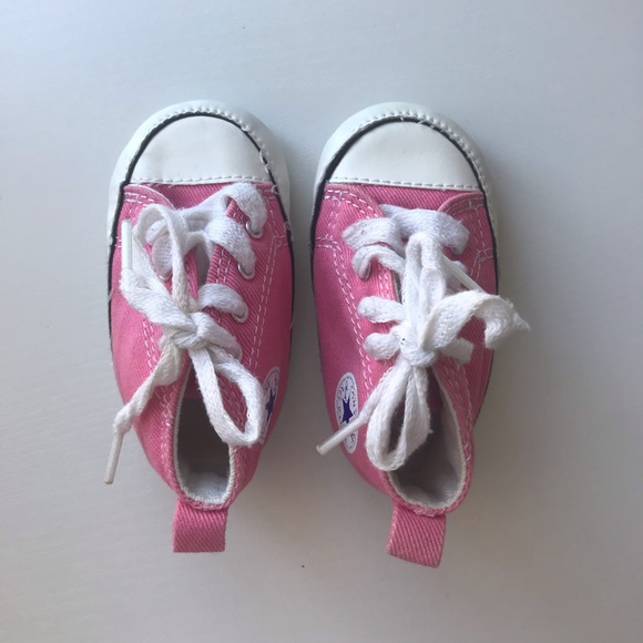 e7c5d903141d Converse Other - Pink Converse Baby Size 2